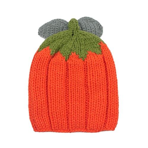可爱宝宝南瓜帽子 新品kenmont冬季男童女童毛线帽卡通针织帽4823