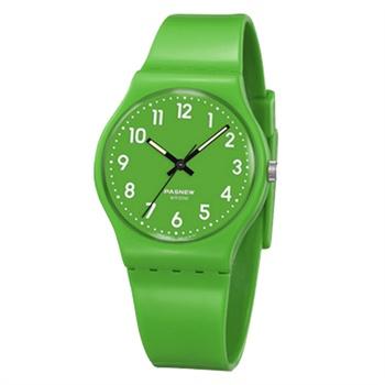 pasnew百圣牛韩国时尚学生表电子表防水复古表儿童手表果冻潮流手表