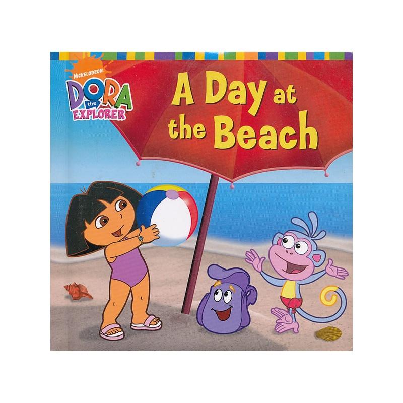 a day at the beach 朵拉历险记:海边的一天(卡板书) isbn