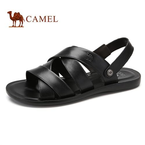 【骆驼男鞋手机专享价】Camel 骆驼凉鞋 新款夏季日常男鞋 时尚休闲风男士凉鞋透气沙滩鞋