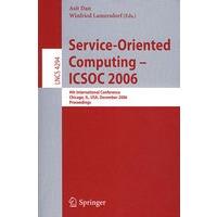面向服务的计算 - Icsoc 2006 / 国际会议录 Service-oriented computing - ICSOC 2006