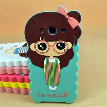 【shukeg7106卡通硅胶套手机保护套】可爱女孩 小希软套 三星g7106