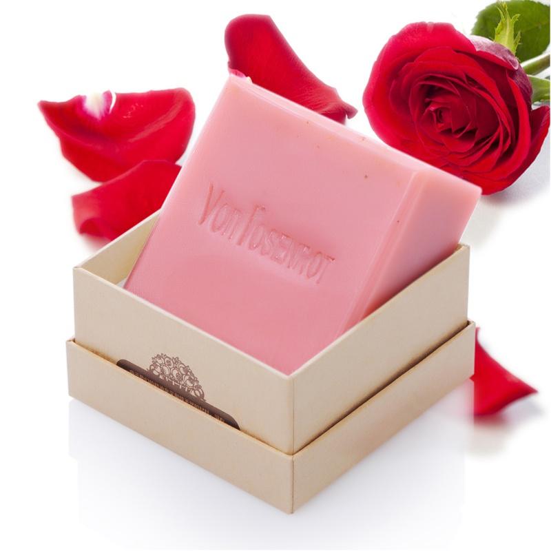梵森洛塔 玫瑰精油手工皂125g 100%真正德国进口