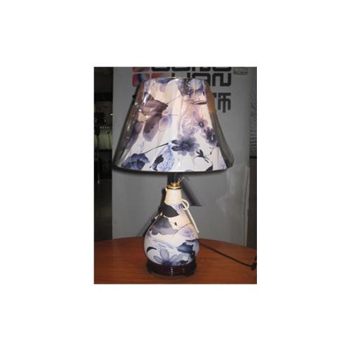 现代简约皮质台灯,时尚花纹一体床头灯