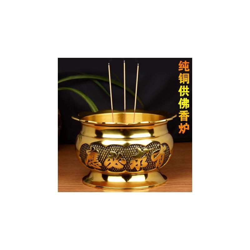 矢量图 佛教香炉