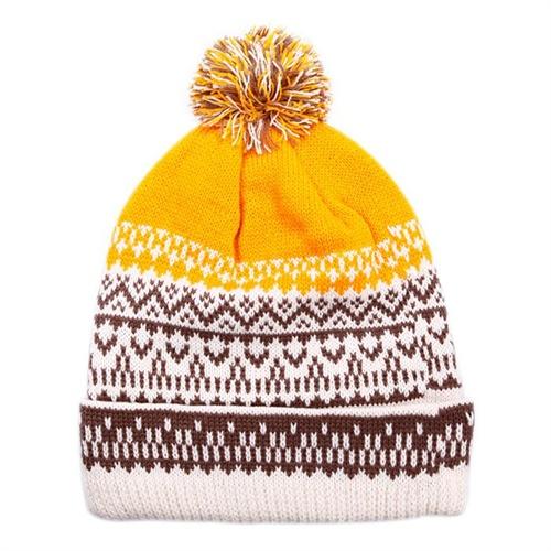 顶范 最新 秋冬 男女 圣诞 花纹 针织毛线帽 -服装