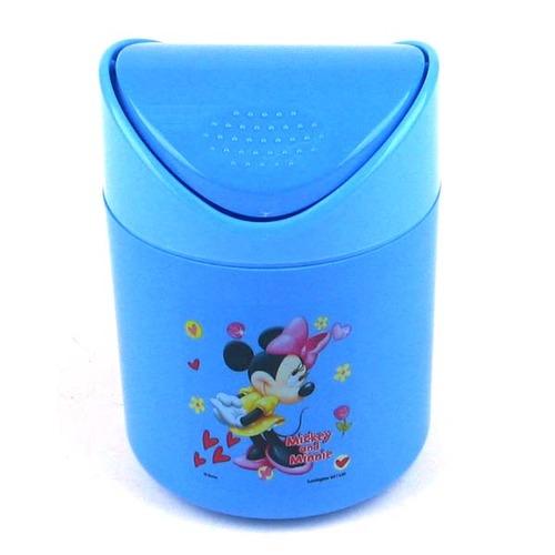 迪斯尼小号圆形垃圾桶(dp-842蓝色)