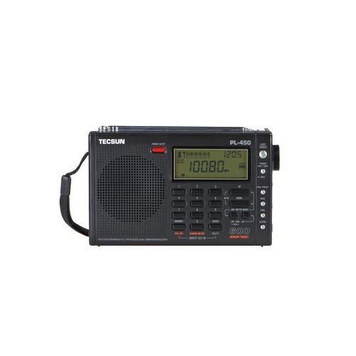 【包邮】德生立体声全波段 收音机pl-450
