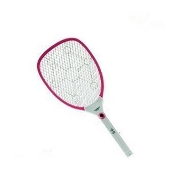 (创新电器)康铭 km-379电蚊拍大号充电led灯多功能安全灭蝇拍环保驱蚊