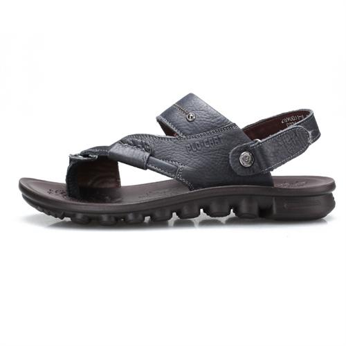PLO-CART 保罗盖帝 夏季新款舒适透气男士夹趾沙滩两用凉鞋