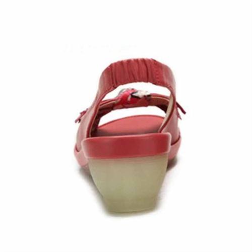 camel骆驼 女单鞋 时尚坡跟凉鞋