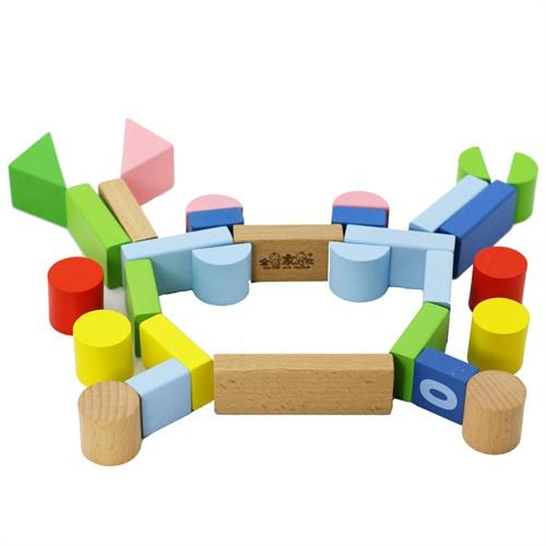 全家欢100粒儿童益智积木