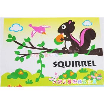 儿童益智玩具 立体拼图 手工拼图 海绵纸eva拼图玩具 ※ 小松鼠