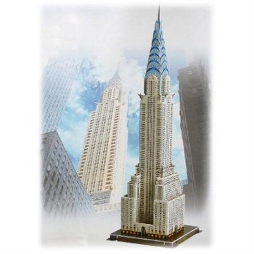 益智立体拼图玩具美国克莱斯勒大厦