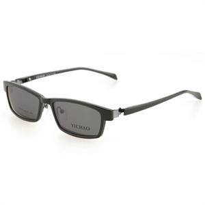 亿超近视偏光太阳镜插片+近视眼镜架双用眼镜近视镜FB6028