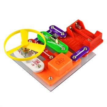王老师 儿童早教益智拼装玩具 智力开发 电子积木 w-58