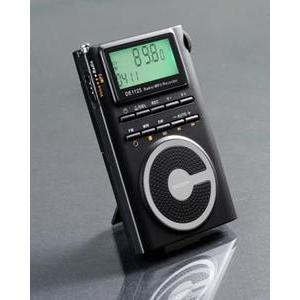 德劲收音机de1125 调频立体声中波短波数字收音机/ mp3播放器(2g)