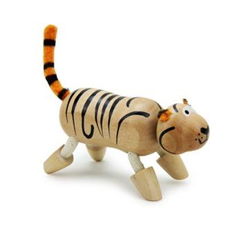 【特宝儿】森林动物公仔 精品木玩木制玩具纯手工工艺品 12款可选_we1