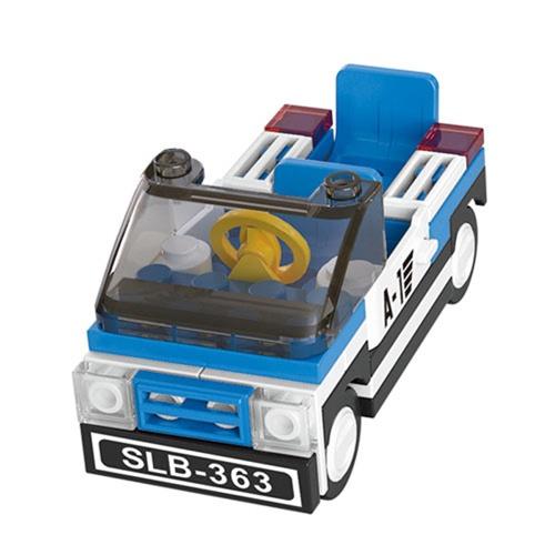 小鲁班积木 航空飞机 乐高式积木益智拼插玩具 塑料拼插 积木 儿童