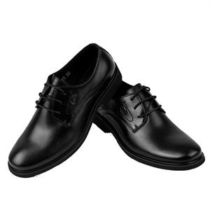 Pubgo千禧步步高商务男士皮鞋 新款简约真皮正装鞋 英伦潮头层牛皮休闲鞋M114174