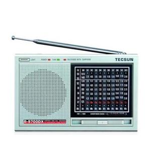 tecsun德生 r-9700dx高性能二次变频12波段立体声收音机