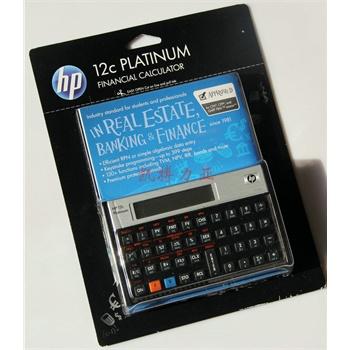 惠普HP12C Platinum 铂金版金融理财 财务计算器 AFPCFP考试指定