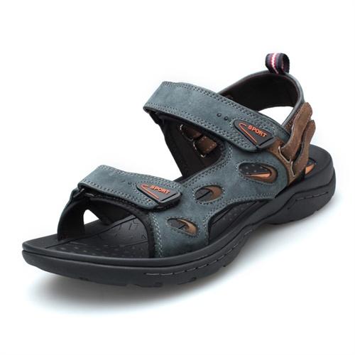 Plo-cart保罗盖帝 男士透气时尚真皮洞洞鞋 沙滩鞋