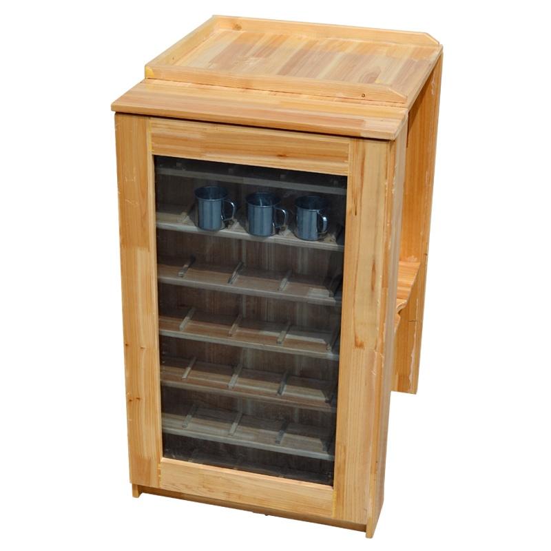 玩具】实木保温桶水杯架