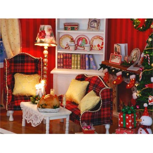 清凉音 圣诞派对diy手工小屋制作生日礼物女创意礼品七夕情人节礼物