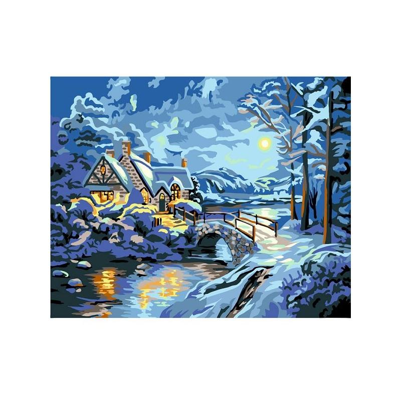 【华庭丽娜墙壁装饰】华庭丽娜 新品数字油画 diy手绘图片