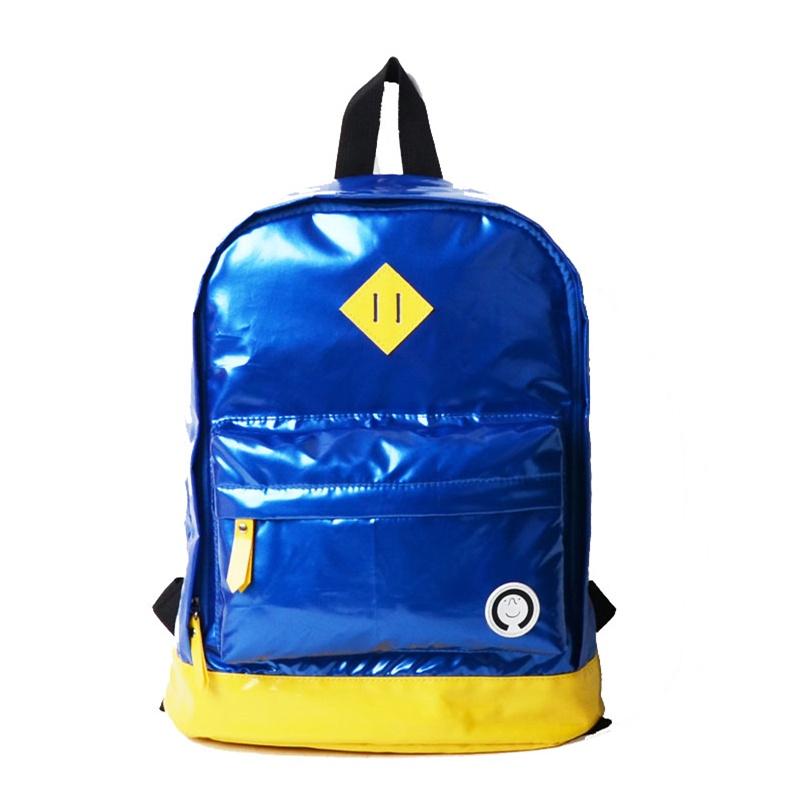p tiny欧美潮流时尚幼儿园儿童背包双肩包书包_蓝色