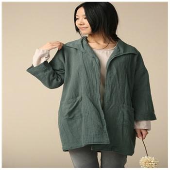 橄榄绿棉麻长裙搭配