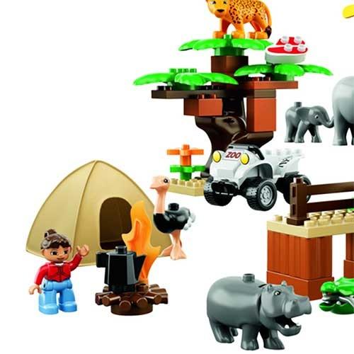 乐高积木动物园图片