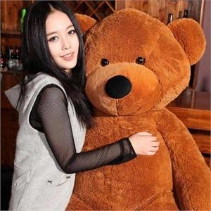 思恩 1.4米包邮泰迪熊 毛绒玩具 大号抱抱熊