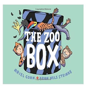 动物园的盒子 英文原版 the zoo box ariel cohn first second 48