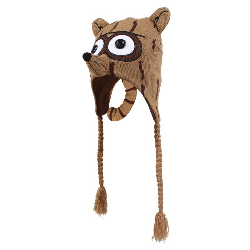 宝宝卡通狐狸帽可爱冬帽