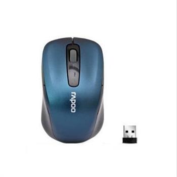 rapoo雷柏无线鼠标 1030笔记本/台式机 nano接收器_蓝色