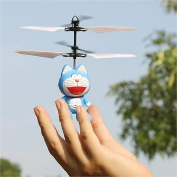 活石 儿童玩具迷你充电遥控直升机 感应悬浮飞行器小飞机 蜘蛛侠 美国