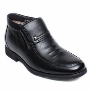 头层牛皮男棉鞋 皮棉鞋男835