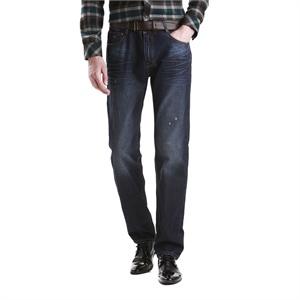 柒牌男装2014秋装上市男士商务时尚 修身牛仔裤 E99S863D058