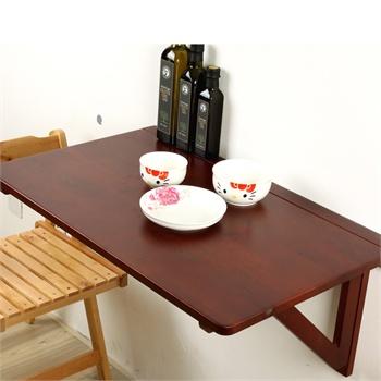 电脑桌 书桌 餐  分享到 查看大图 100%环保材质 独家设计实木挂墙桌&