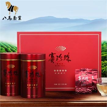 八马茶业 铁观音茶叶 浓香型 赛珍珠五星高档礼盒200g