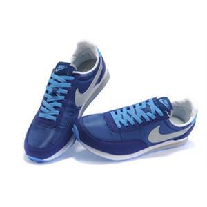 耐克 Nike 阿甘2代深蓝灰跑步鞋 311082 402 耐克男款跑鞋怎么样,好