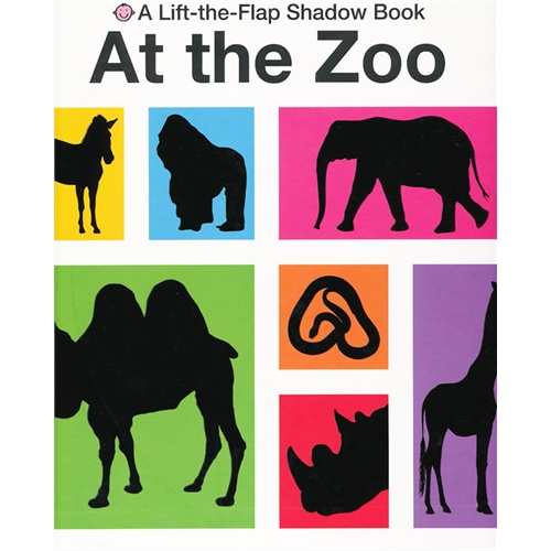 lift-the-flap shadow book at the zoo 影子猜猜看:动物园(翻翻图片
