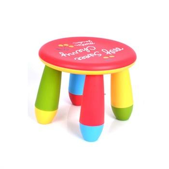 宝宝椅 卡通小板凳 彩色 坐高25.