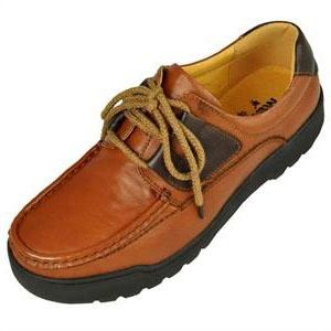 红棕色 男 休闲皮鞋