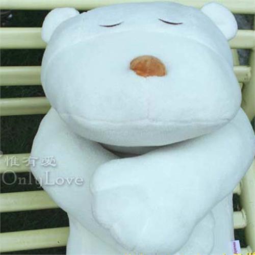 惟有爱可爱公仔熊娃娃生日礼物 趴趴熊抱枕靠垫 很萌