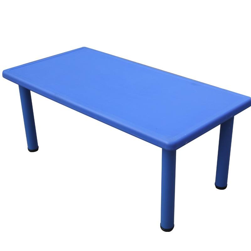 豪华型幼儿园课桌餐桌 学习桌 绘画桌 长桌 幼儿园用品 桌子_蓝色