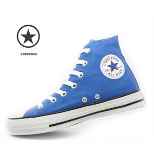 匡威蓝色帆布鞋图片