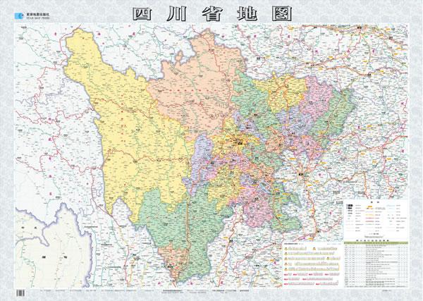 四川地图全图 四川地图全图高清版 四川盐菜
